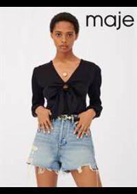 Prospectus Maje PARIS 16 rue Montmartre : Tops & Chemises Femme