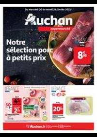 Prospectus Auchan Supermarché Paris 12 Reuilly : A ce prix là, c'est encore meilleur !