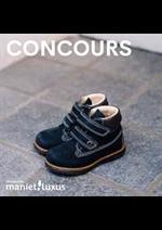 Prospectus Maniet ! Luxus : Concours