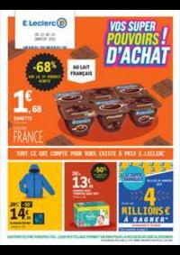 Prospectus E.Leclerc LE KREMLIN BICETRE : Vos super pouvoirs d'achat!