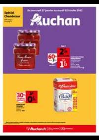 Menus Auchan PUTEAUX : Les bons plans du week-end
