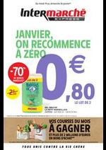 Promos et remises Intermarché Express : JANVIER, ON RECOMMENCE À ZÉRO