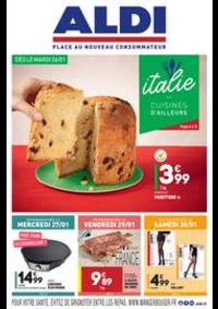 Prospectus Aldi Champigny-sur-Marne : L'italie - Cuisines d'ailleurs