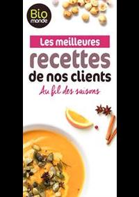 Prospectus Biomonde PARIS 13 RUE DE MAUBEUGE : Les meilleures recettes de nos clients