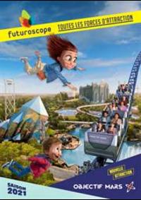 Prospectus Futuroscope de Poitiers : Saison 2021
