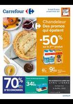 Prospectus Carrefour : Chandeleur - Des promos qui épatent