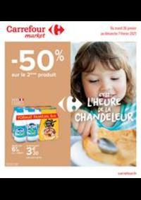 Prospectus Carrefour Market ALBERTVILLE : C'est l'heure de la Chandeleur