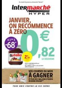 Prospectus Intermarché Hyper Thonon-Les-Bains : JANVIER, ON RECOMMENCE À ZÉRO