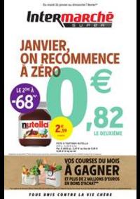 Prospectus Intermarché Super Les Hôpitaux Neufs : JANVIER, ON RECOMMENCE À ZÉRO