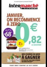Prospectus Intermarché Super Chelles : JANVIER, ON RECOMMENCE À ZÉRO