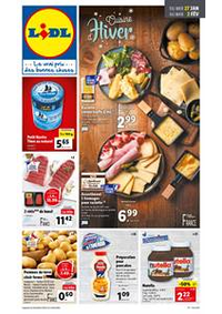 Prospectus Lidl HOUTAUD : Cuisine d'Hiver