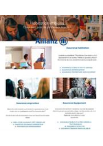 Prospectus Allianz : Catalogue Allianz