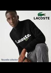 Prospectus Lacoste Metz : Nouvelle collection