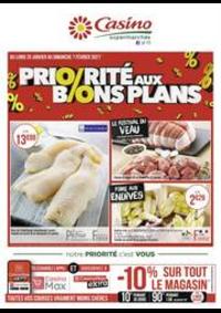 Prospectus Supermarchés Casino Metz : Priorité aux bons plans