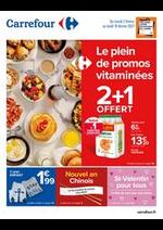 Prospectus Carrefour : Le plein de promos vitaminées