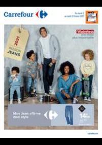Prospectus Carrefour Drancy : Mon jean affirme mon style