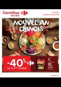 Prospectus Carrefour Market Paris Saint Ouen : Nouvel An Chinois