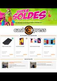Prospectus Cash Express PARIS : Super Soldes