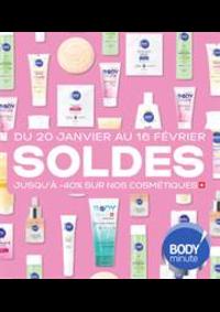 Prospectus Body minute PARIS M° Jacques - Bonsergent / proche République : Soldes