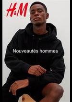 Catalogues et collections H&M : Nouveautes hommes