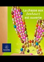 Prospectus Leonidas : Le lapin de Pâques est de retour !