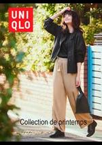 Catalogues et collections Uniqlo : Collection de printemps