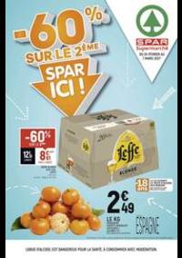 Promos et remises Spar Deuil La Barre : -60% sur le 2ème, Spar ici !