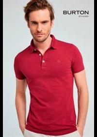 Catalogues et collections Burton SAINT GERMAIN EN LAYE : Collection Polos & T-Shirts  Homme