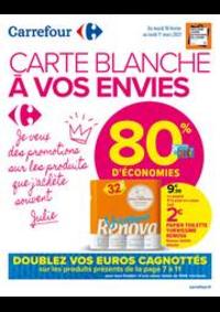 Promos et remises Carrefour Market VIARMES : CARTE BLANCHE A VOS ENVIES