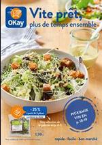 Prospectus OKay Supermarchés : Vite prêt, plus de temps ensemble