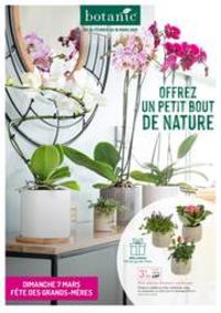 Prospectus botanic Suresnes : Offrez un petit bout de nature