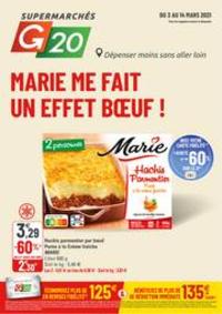 Prospectus G20 PARIS 4 St-Antoine : Marie me fait un effet bœuf !