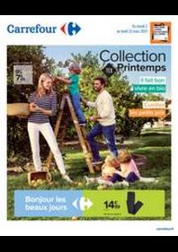 Prospectus Carrefour SANNOIS : Collection TEX Printemps