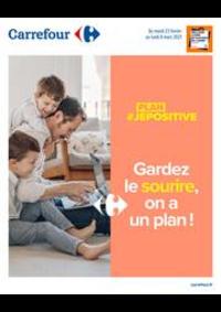 Prospectus Carrefour GENNEVILLIERS : #jepositive