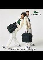 Prospectus Lacoste : Reinventez vos classiques