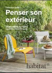 Prospectus Habitat PARIS 11EME 42/44 rue du Faubourg Saint-Antoine : Penser son extérieur