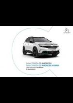 Promos et remises  : Suv Citroën C5 Aircross