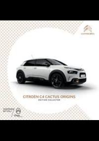 Prospectus Citroen AUBERVILLIERS : Citroën C4 Cactus Origins