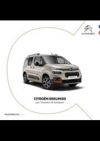 Prospectus Citroen AUBERVILLIERS : Citroën Berlingo