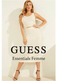 Prospectus Guess Anderlecht : Essentials Femme