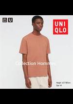 Prospectus Uniqlo : Collection Hommes