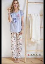 Prospectus Damart : Pyjamas