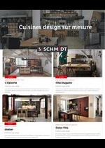 Prospectus Cuisines Schmidt : Cuisines design sur mesure