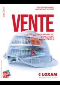 Prospectus Loxam PARIS : Vente consommables, outillages & matériels