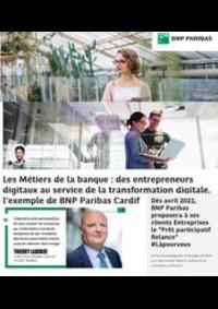 Prospectus BNP Paribas MULHOUSE : Les métiers de la banque