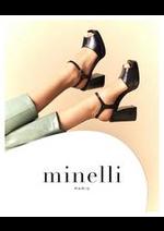 Catalogues et collections Minelli : Nouveautés Chaussures Femme