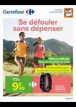 Prospectus Carrefour : Se défouler sans dépenser