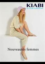 Catalogues et collections Kiabi : Nouveautés femmes