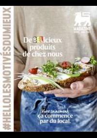 Prospectus Supermarché Delhaize Nivelles : Folder Delhaize
