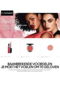 Prospectus MAC Cosmetics BRUXELLES Neuve : Powder Kiss